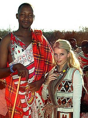 INTO AFRICA photo | Jessica Simpson