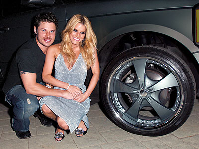 WHAT SHE GOT photo | Jessica Simpson, Nick Lachey