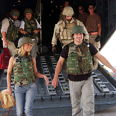 MISSION: IRAQ photo | Jessica Simpson, Nick Lachey