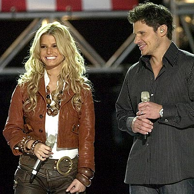 DUET photo | Jessica Simpson, Nick Lachey