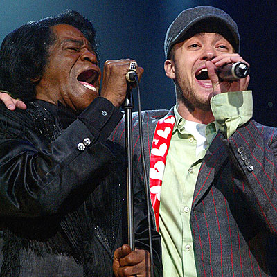 FAN CLUB photo | James Brown, Justin Timberlake