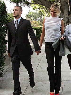 WEDDING BELLS photo | Cameron Diaz, Justin Timberlake