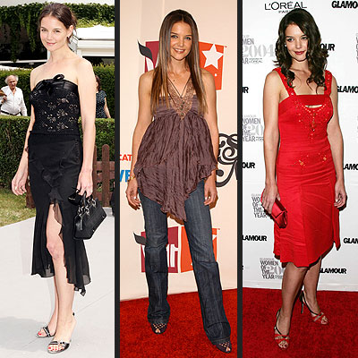 PLAYING DRESS-UP  photo | Katie Holmes