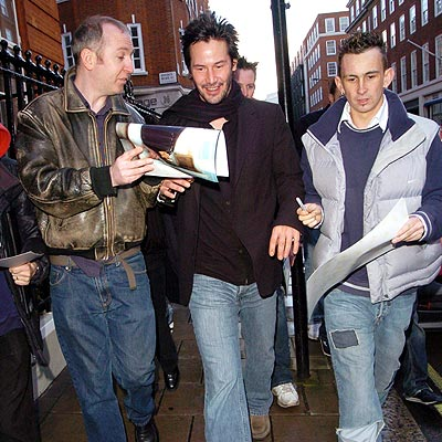 LONDON, FEB. 12  photo | Keanu Reeves
