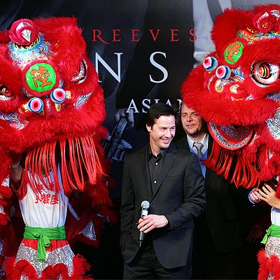 HONG KONG, FEB. 4  photo | Keanu Reeves