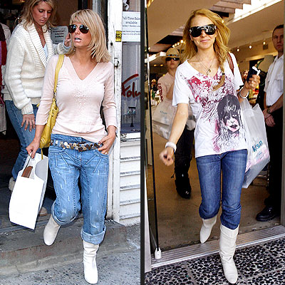 BOOTING UP photo | Jessica Simpson, Lindsay Lohan