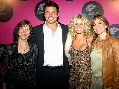 NICK LACHEY & CATE REINERT JESSICA & TINA SIMPSON  photo | Jessica Simpson, Nick Lachey