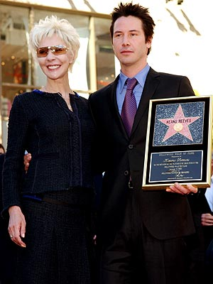 KEANU REEVES & PATRICIA TAYLOR photo | Keanu Reeves
