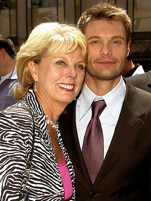 Photo of Ryan Seacrest & his  Mother  Constance Marie