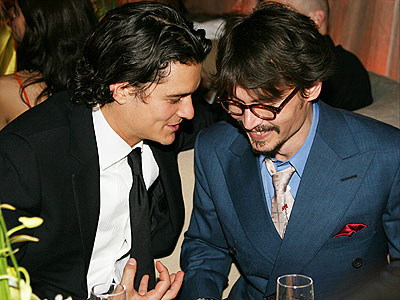 johnny depp orlando bloom