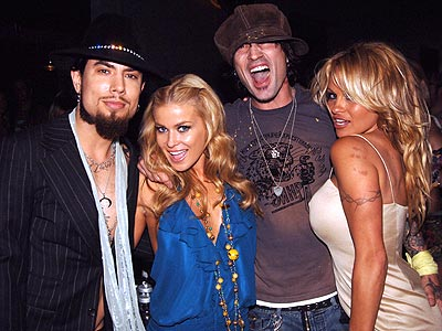 SPARKING RUMORS photo | Carmen Electra, Dave Navarro, Pamela Anderson, Tommy Lee