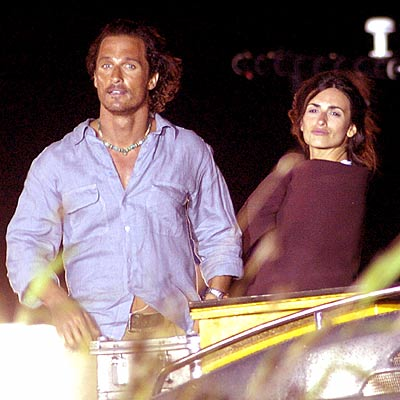 DESERT NIGHTS photo | Matthew McConaughey, Penelope Cruz