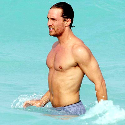 SEXIEST MAN photo | Matthew McConaughey