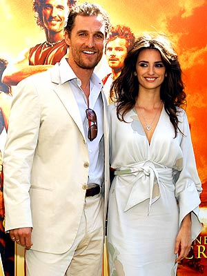HAPPY TOGETHER photo | Matthew McConaughey, Penelope Cruz