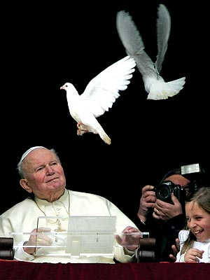 SUNSET photo | Pope John Paul II
