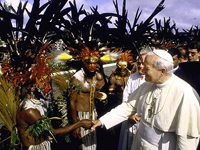 WORLD TRAVELER photo | Pope John Paul II