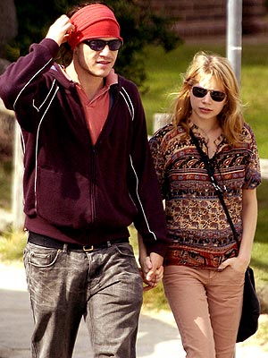 MICHELLE WILLIAMS photo | Heath Ledger, Michelle Williams
