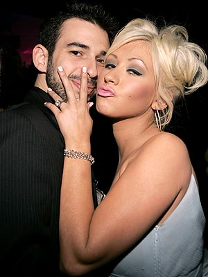 CHRISTINA & JORDAN photo | Christina Aguilera, Jordan Bratman