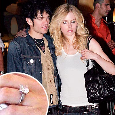 rock stars big rings avril lavigne peoplecom