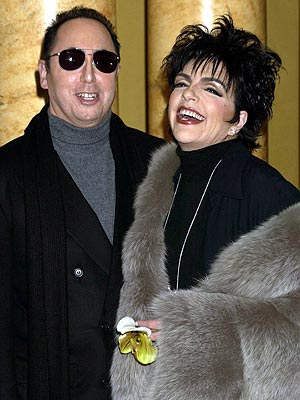 SO SUE ME!  photo | David Gest, Liza Minnelli