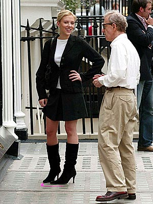 LONDON CALLING photo | Scarlett Johansson, Woody Allen