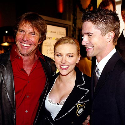 COMPANY PLAYERS photo | Dennis Quaid, Scarlett Johansson, Topher Grace