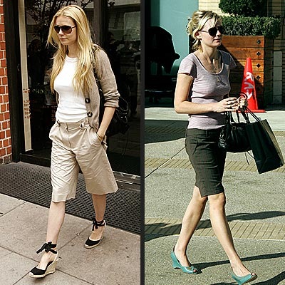TREND: WALKING SHORTS photo | Gwyneth Paltrow, Kirsten Dunst