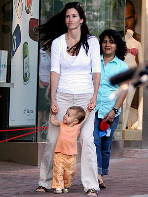 COURTENEY & COCO photo | Courteney Cox