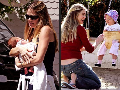 DENISE, LOLA & SAM photo | Denise Richards