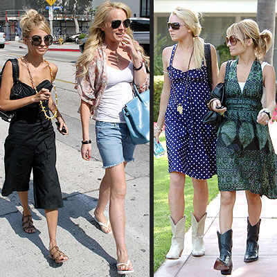 TRENDIEST BEST FRIENDS: LINDSAY LOHAN & NICOLE RICHIE photo | Lindsay Lohan, Nicole Richie
