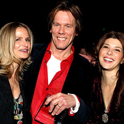 THREE&#39;S COMPANY photo | Kevin Bacon, Kyra Sedgwick, Marisa Tomei