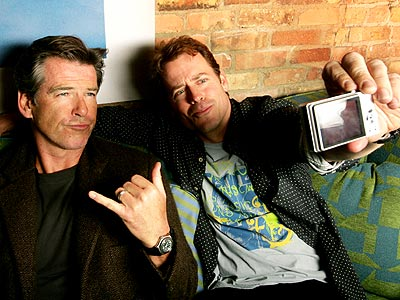 CAMERA READY photo | Greg Kinnear, Pierce Brosnan