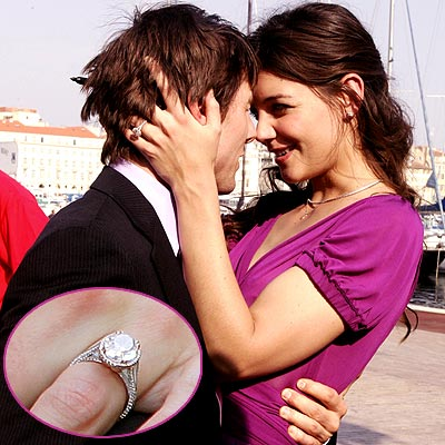 3. HIS PARISIAN PROPOSAL  photo | Katie Holmes, Tom Cruise