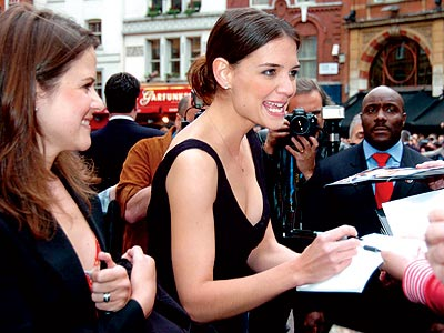 NEW BEST FRIEND photo | Katie Holmes