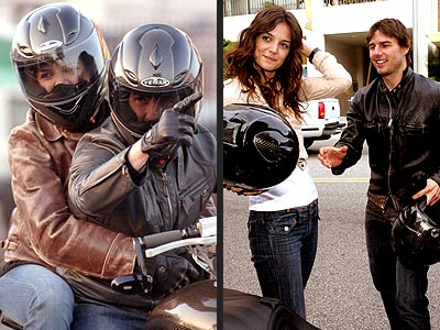 SPEEDING ALONG photo | Katie Holmes, Tom Cruise