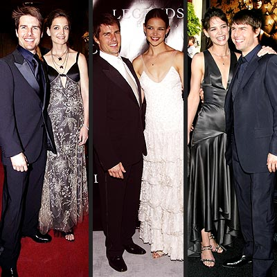 DRESSY DUO photo | Katie Holmes, Tom Cruise