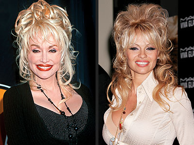 HELLO ... DOLLY? photo | Dolly Parton, Pamela Anderson