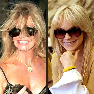 GOLDEN GIRLS photo | Goldie Hawn, Lindsay Lohan