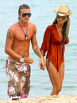 SAINT-TROPEZ photo | David Beckham, Victoria Beckham