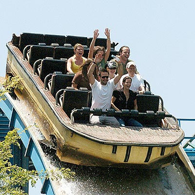 SIX FLAGS photo | Courteney Cox, David Arquette