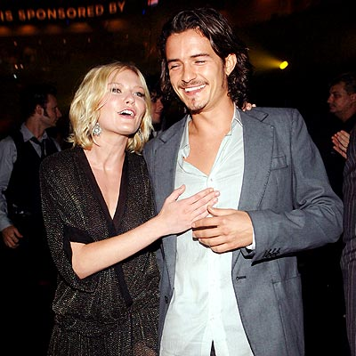 PALLING AROUND photo | Kirsten Dunst, Orlando Bloom