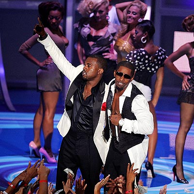 GOLDEN PERFORMANCE photo | Jamie Foxx, Kanye West