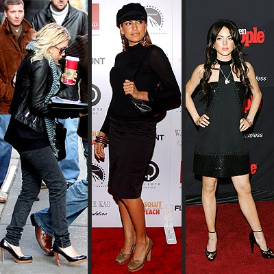 TREND: PLATFORM SHOES photo | Ashley Olsen, Eva Mendes, Lindsay Lohan