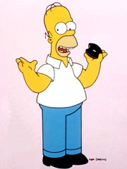 Homer Simpson to Meet God and Ricky Gervais
