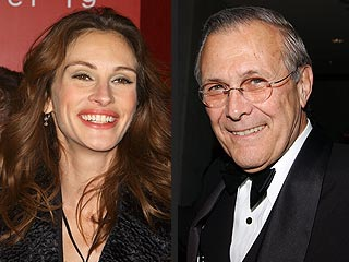Julia Roberts Buys Donald Rumsfeld's Land | Julia Roberts