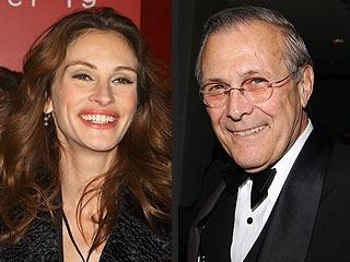 Julia Roberts Buys Donald Rumsfeld's Land | Julia Roberts