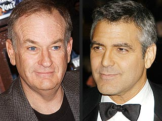 Bill O'Reilly Accepts Clooney's Challenge