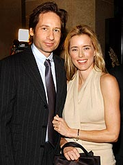 David Duchovny, Téa Leoni Remain Friendly