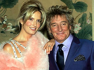 Rod Stewart, Penny Lancaster Expecting a Baby | Rod Stewart
