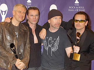 Bono in Rock Hall: Keep the Nobel Prize | U2